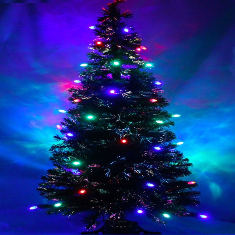A To Z Traders Fir 160 cm (5.25 ft) Artificial Christmas Tree(Multicolor)