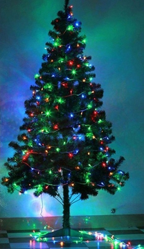 A To Z Traders Fir 152 cm (4.99 ft) Artificial Christmas Tree(Multicolor)