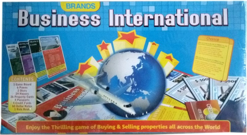 HALO NATION International Business Family Game By Brands Board Game