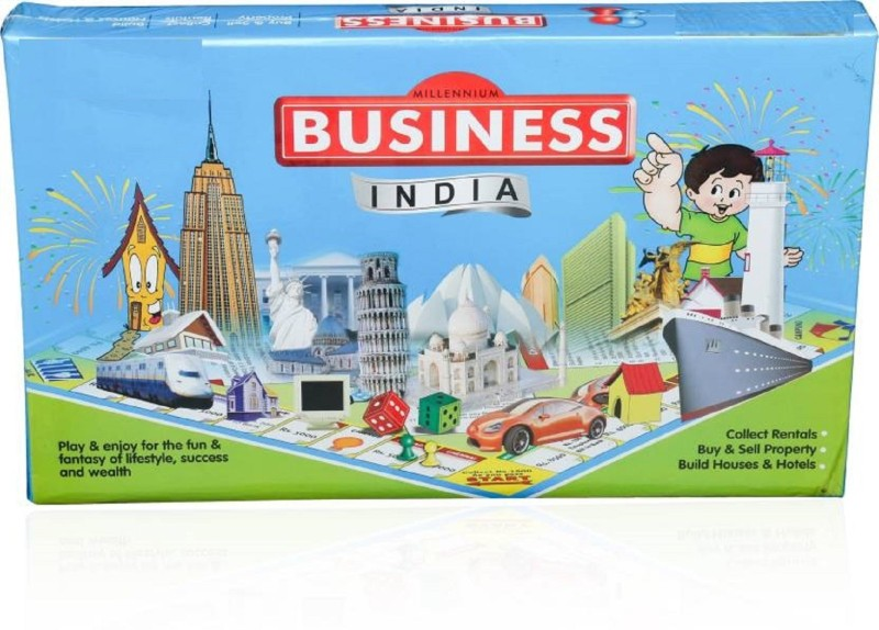 HALO NATION Business India - Millenium Edition Family Game By Brands Board Game