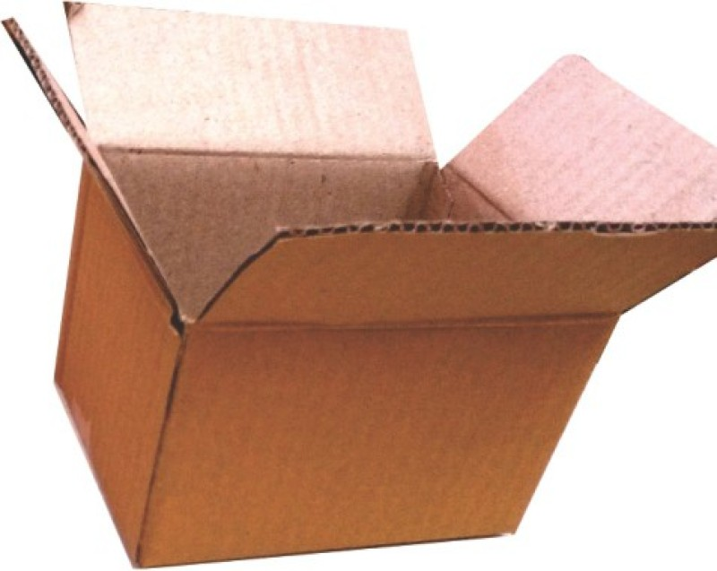 ADD-IT PRINTERS Corrugated Paper Storage, Shipment, Packing Packaging Box(Pack of 40 Brown)