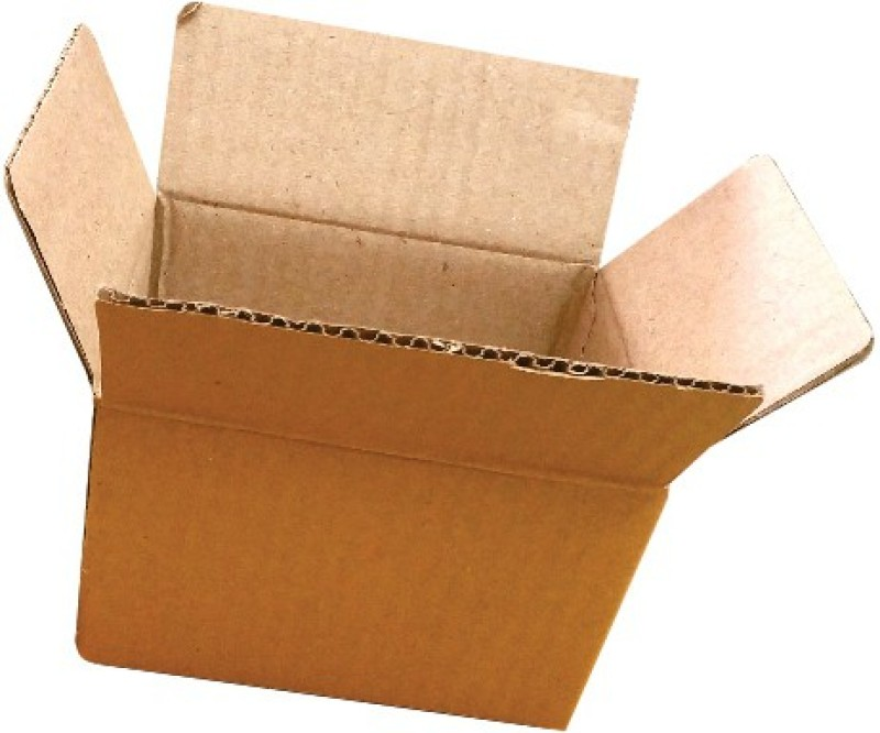 add-it printers Corrugated Paper 3 ply small 50 boxes, Office Stationery, Courier, Shipments, Storage, (12cm x 7.5cm x 9cm) Packaging Box(Pack of 50 Brown)
