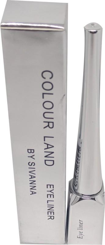 Sivanna Colors Colour Land Eyeliner 8 ml(Deep Black)