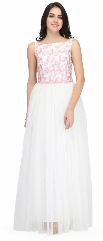 Eavan Ball Gown(White)