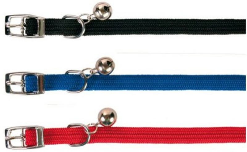 Trixie Cat Collars (6 Set) Bell Cat Collar Charm(Multicolor, Other)