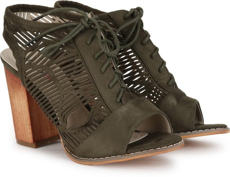 Jealous 21 Women Brown Heels