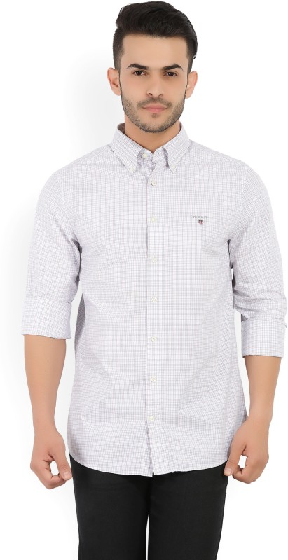 Gant Mens Checkered Casual Red, White, Blue Shirt