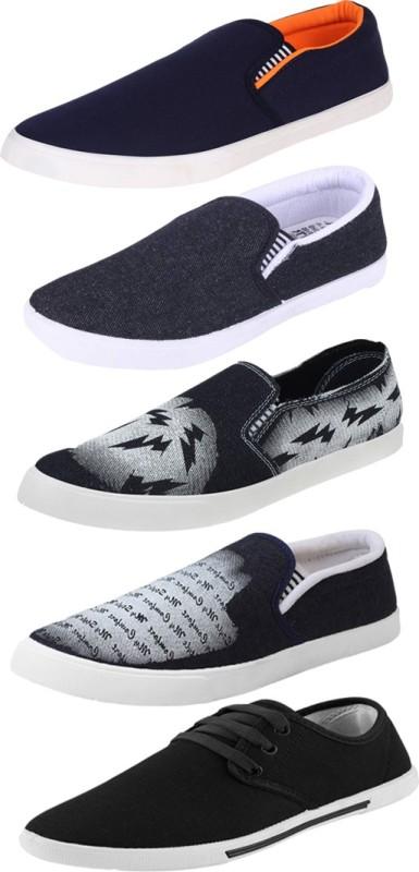 Bersache COMBO(B)-486+689+723+349+720 Loafers(Multicolor)