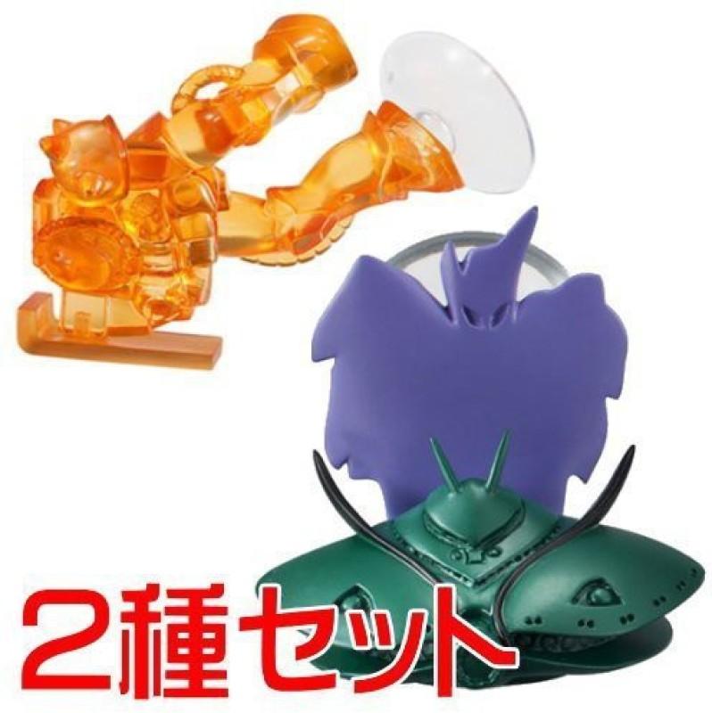 Bandai Mobile Suit Gundam Ms Mobile Stand 03 Set Of 2 3. Vig Zam 5. Mass Production Type Zaku(Multicolor)