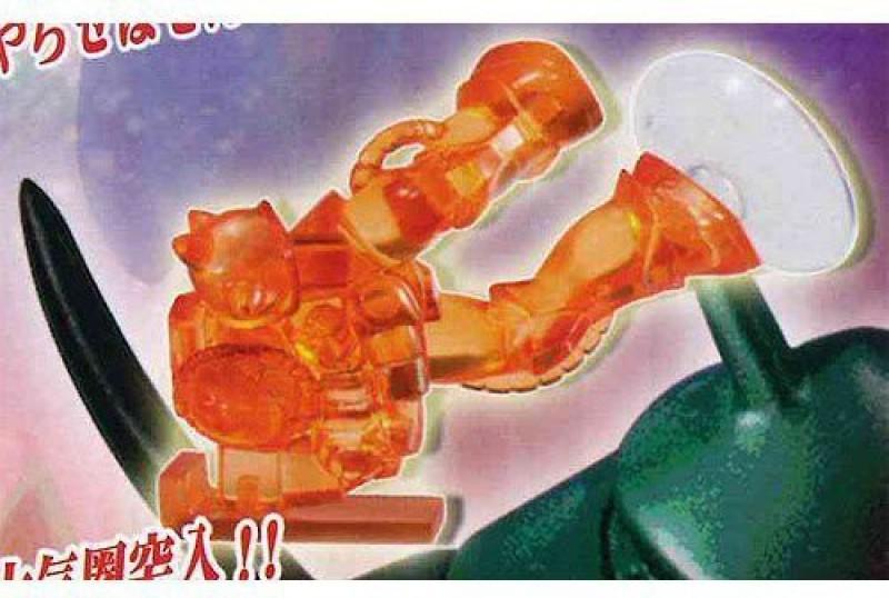 Bandai Mobile Suit Gundam Ms Mobile Stand 03 5 Mass Production Type Zaku Ms 06 Gachapon(Multicolor)