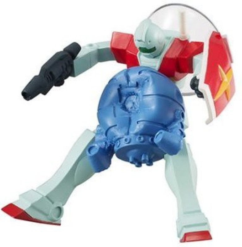 Bandai Mobile Suit Gundam Ms Mobile Stand 03 2. Jim & Ball ... But Not A Soccer Ball Single(Multicolor)
