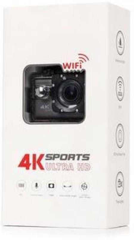 Mobilegear F68 Ultra HD F68 4K Ultra HD 170 Degree Camcorder Camera Camcorder(Black)