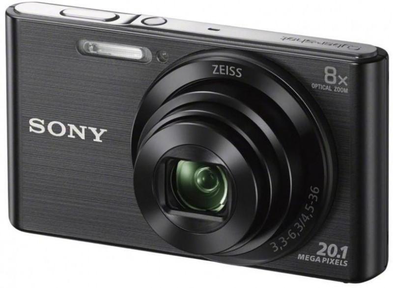 Sony W830 Point & shoot Point & Shoot Camera(Black) image