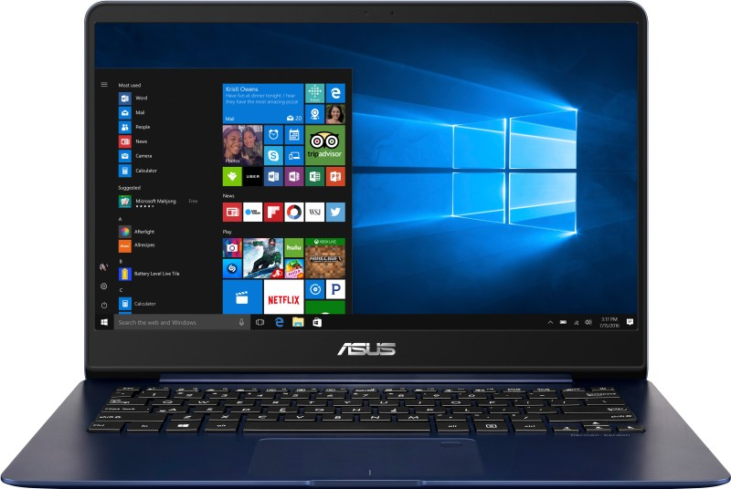 Asus ZenBook Core i5 8th Gen - (8 GB/256 GB SSD/Windows 10 Home) UX430UA-GV334T Thin and Light Laptop(14 inch, Blue Metal, 1.3 kg) image
