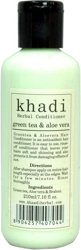 Vagads Khadi Green Tea & Aloe Vera Conditioner(210 ml)