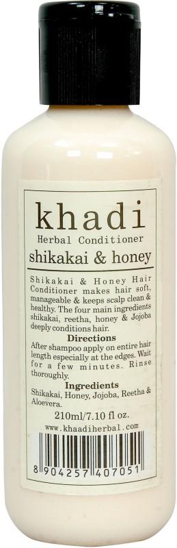 Khadi Herbals Shikakai & Honey Conditioner 210ml(210 ml)