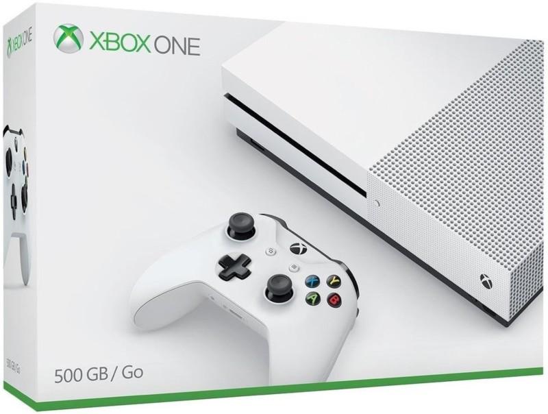 Microsoft XBOX ONE S CONSOLE 500 GB(White)