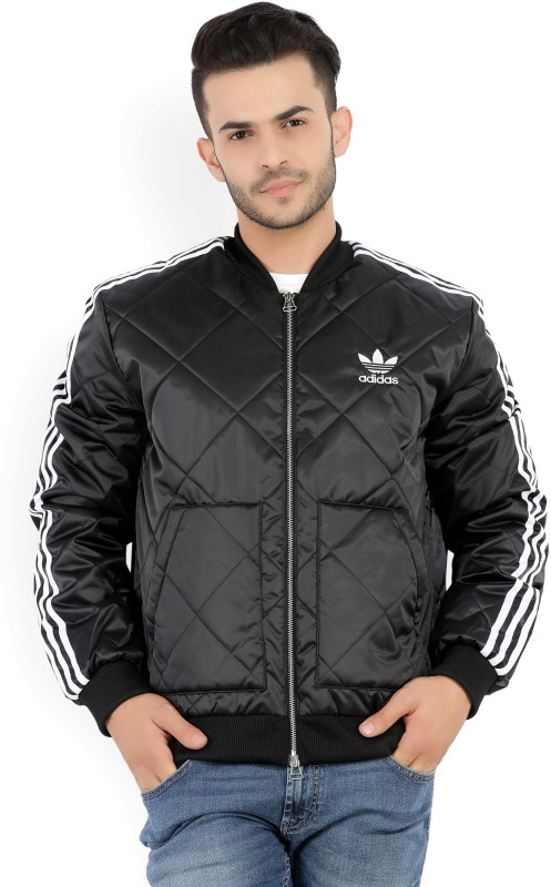 ADIDAS ORIGINALS Full Sleeve Self Design Mens Jacket