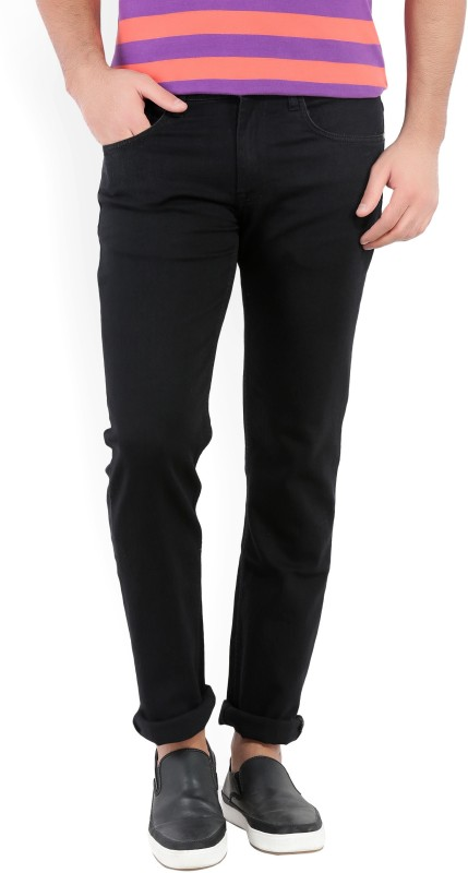 V Dot by Van Heusen Slim Mens Black Jeans
