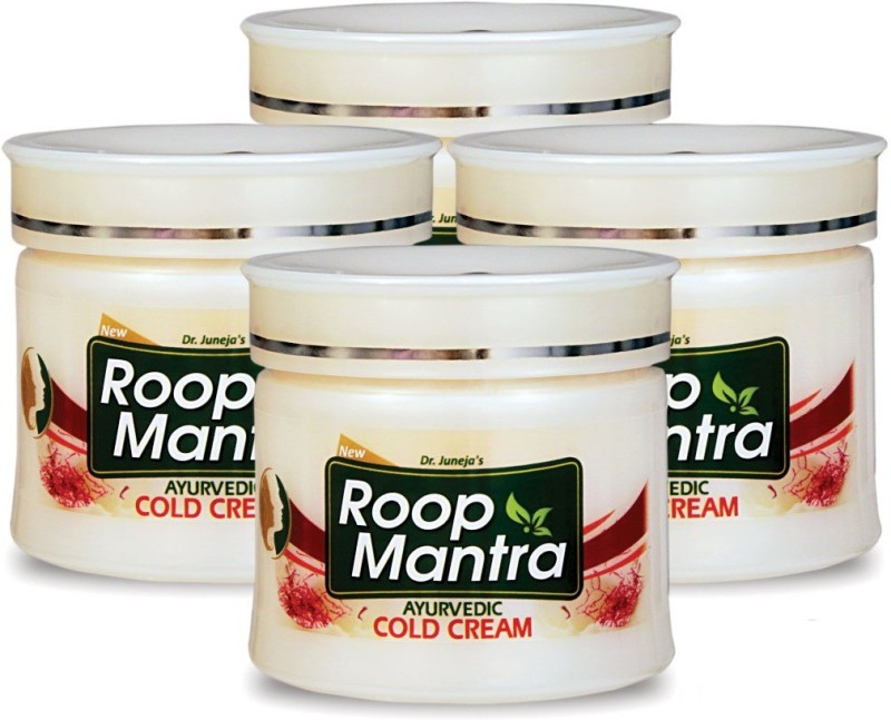 Roop Mantra Kesar Malai Cold Cream 100gm, Pack of 4(100 g)
