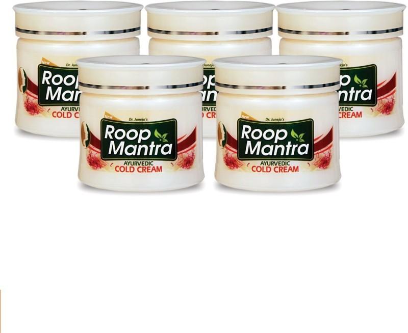 Roop Mantra Kesar Malai Cold Cream 100gm, Pack of 5(100 g)