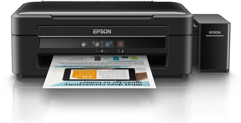 Epson L361 Multi-function Printer(Black, Refillable Ink Tank) image