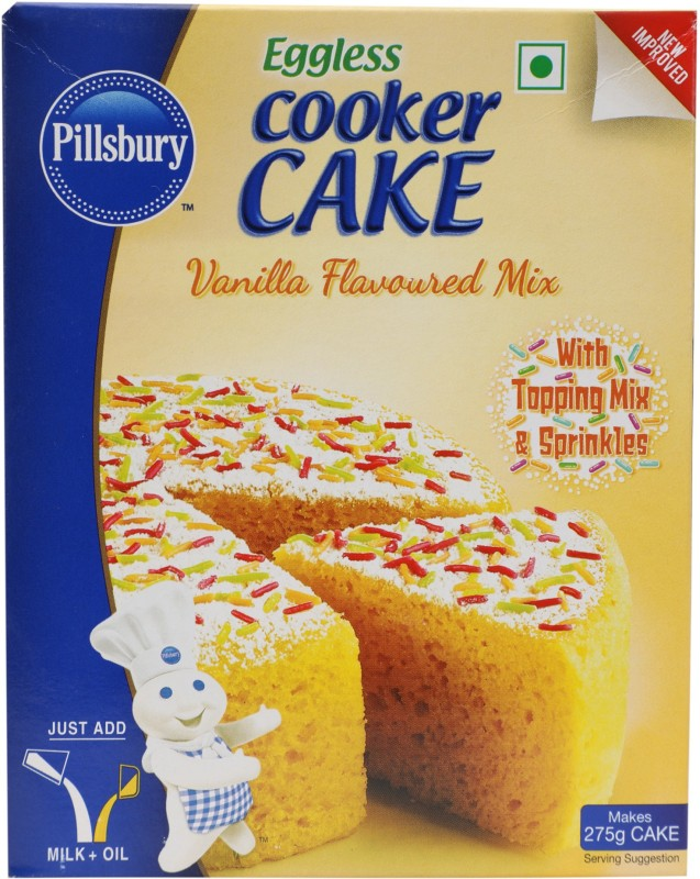 Pillsbury Cooker Cake Mix Vanilla 159 g
