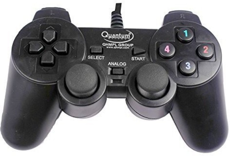 QHMPL QHM7468-2V USB GAMEPAD Handheld Gaming Console(BLACK)