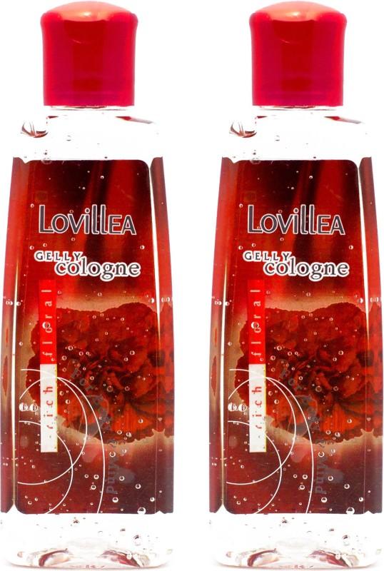 Lovillea Gelly Cologne Rich Floral Pack of 2 Eau de Cologne  -  100 ml(For Men & Women) image