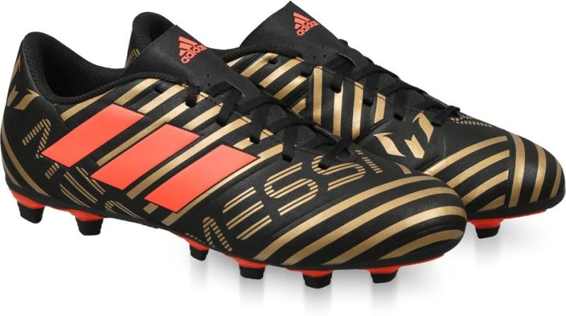 ADIDAS NEMEZIZ MESSI 17.4 FXG Football Shoes For Men(Black)