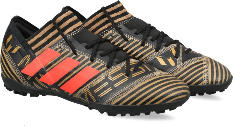 ADIDAS NEMEZIZ MESSI TANGO 17.3 TF Football Shoes For Men(Black)