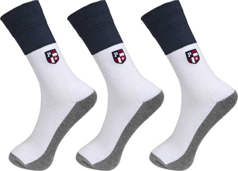 U.S. Polo Assn Mens Solid Crew Length Socks(Pack of 3)