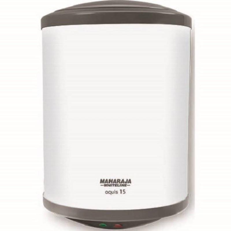 Maharaja Whiteline 10 L Electric Water Geyser(White, AQUIS WH-152)