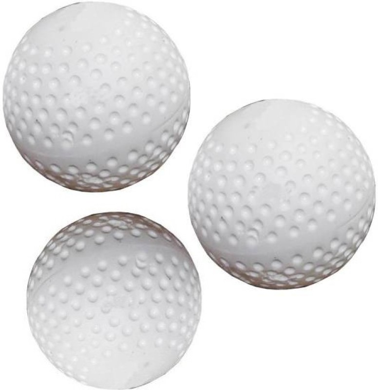 PSE Top Quality Hockey Ball(Pack of 3, White)