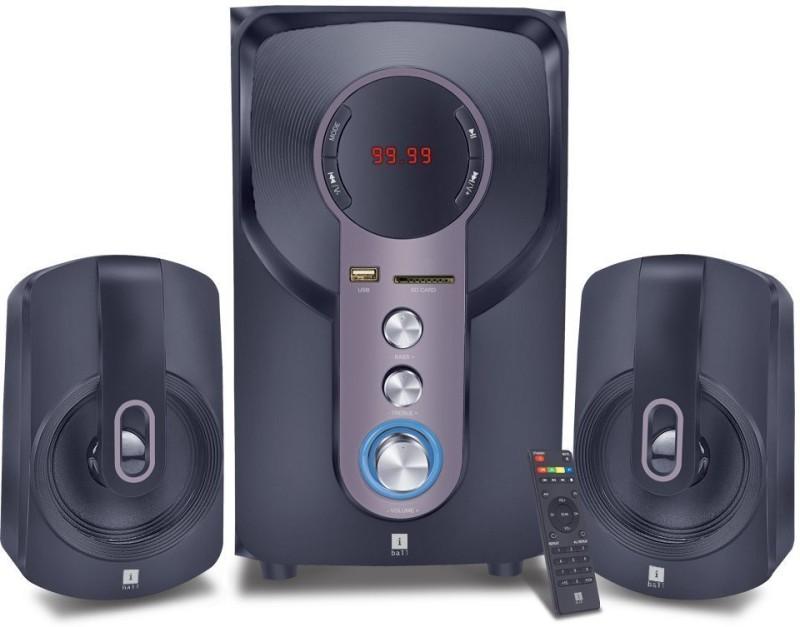 Iball HI-Bass 2.1 Home Cinema(DVD)