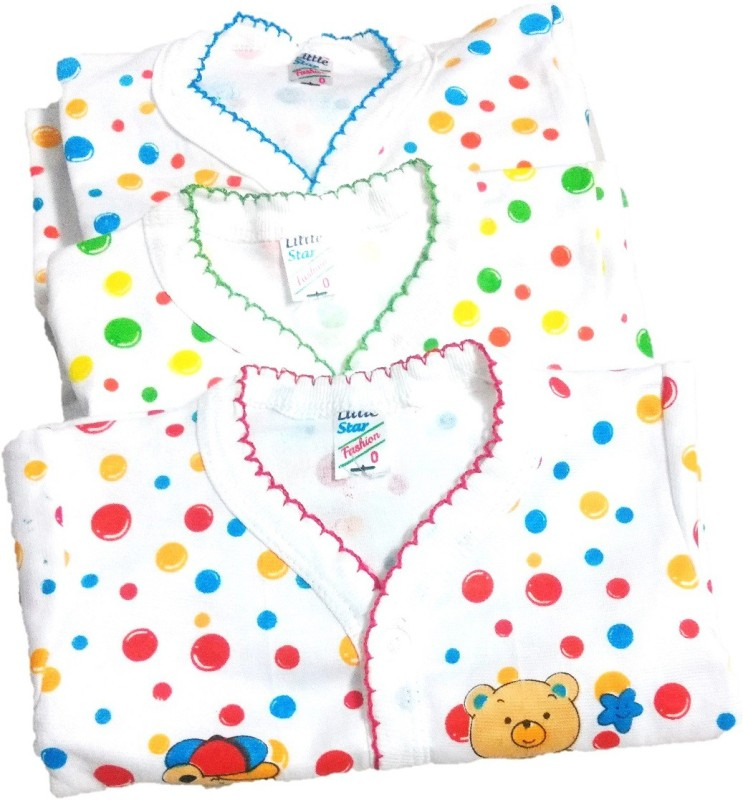NewJainTraders Baby Boys & Baby Girls Casual T-shirt Pyjama(Multicolor)