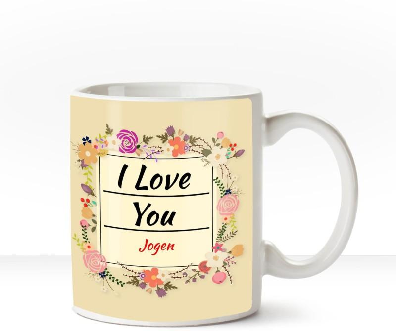 Huppme I Love you Jogen romantic coffee mug Ceramic Mug(350 ml)