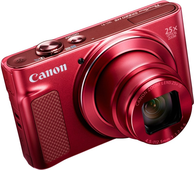 Canon Powershot SX620 Point and Shoot Camera(20.2 MP, 25x Optical Zoom, 100x Digital Zoom, Red)