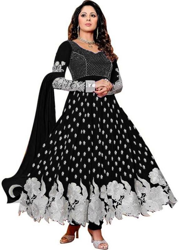 Online Bazaar Embroidered Kurti & Salwar(Stitched)