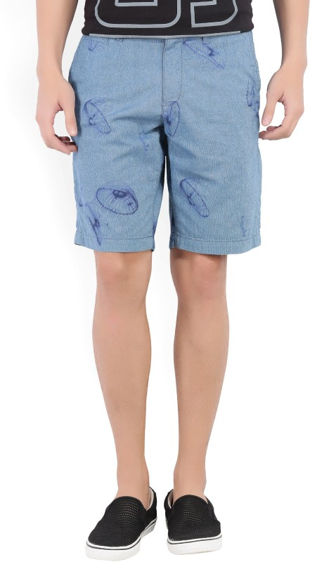 Tommy Hilfiger Solid Mens Dark Blue Basic Shorts