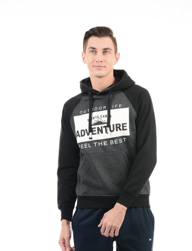 Monte Carlo Full Sleeve Solid Mens Sweatshirt