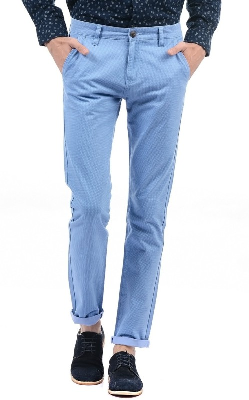 Pepe Jeans Regular Fit Mens Blue Trousers