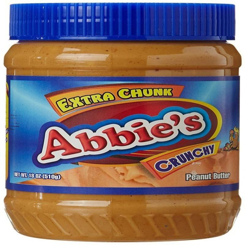 Abbies Peanut Butter Crunchy 510 g