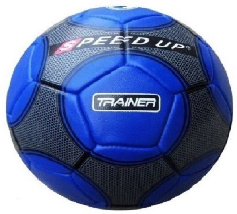 Speed Up Football and ball Pump Football - Size: 5(Pack of 2, Blue, Black)