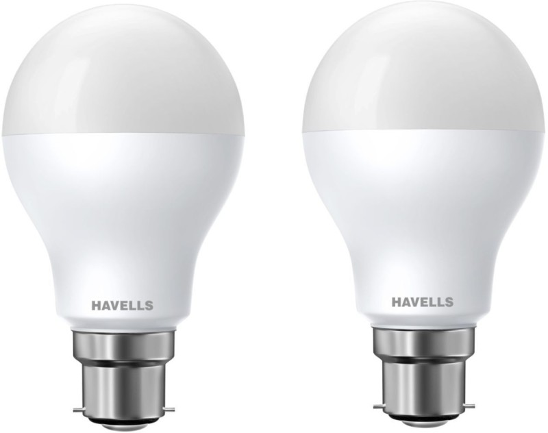 Havells 7 W Standard B22 LED Bulb(Yellow, Pack of 2)