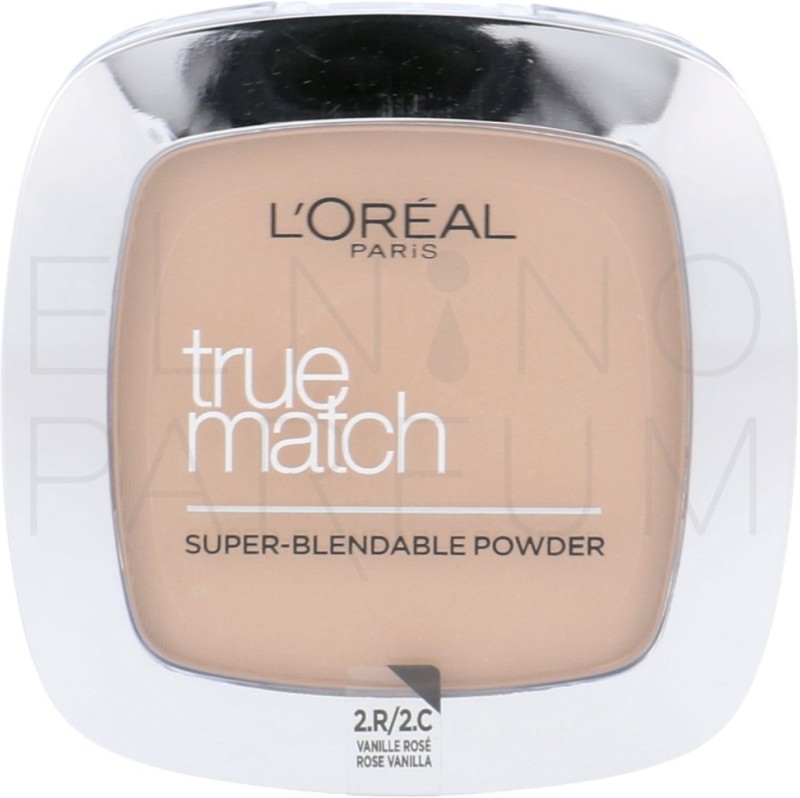 LOreal True Match Super-Blendable Powder Compact - 9 g(2.R/2.C Vanille Rose)