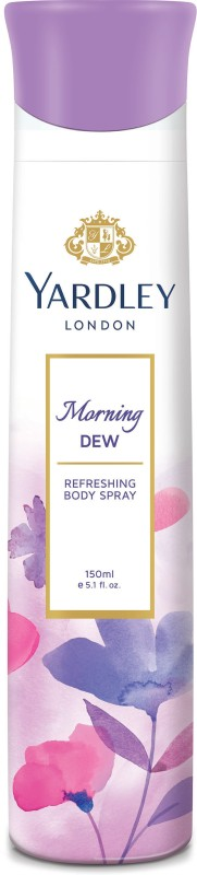 Yardley London Morning Dew Deodorant Spray - For Women(150 ml)
