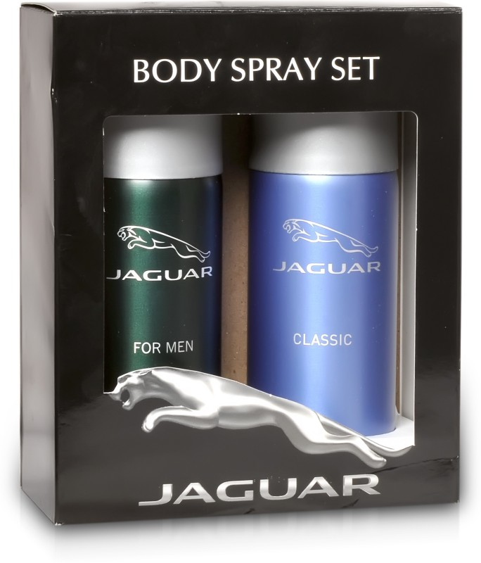 Jaguar Pk of 2 (Classic & For Men) Deodorant Spray - For Men(300 ml, Pack of 2)