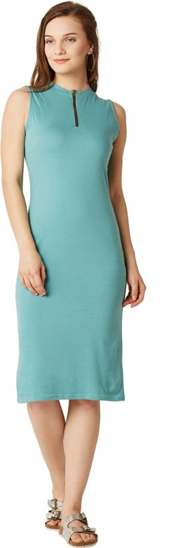 Miss Chase Women's Bodycon Blue Dress