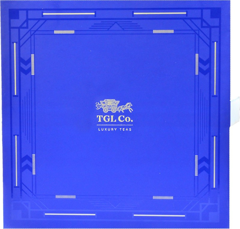 TGL Co. Imperial Treasure Blue Tea Showpiece Gift Set